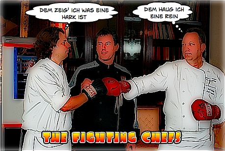 The fighting chefs of Usedom