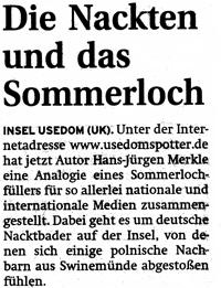 Inselzeitung Sommerloch