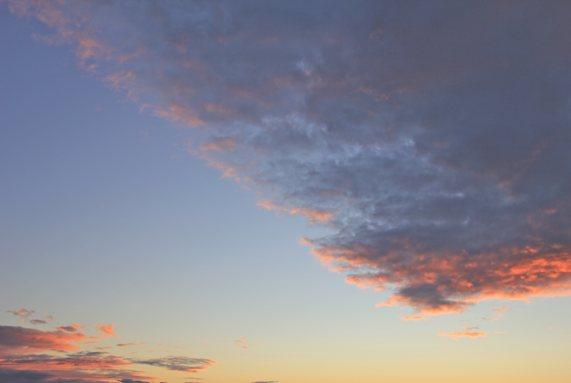 Abendhimmel über Usedom 19.08.2011