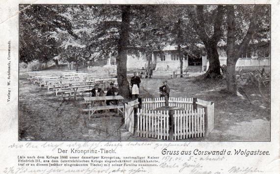 Der Kronprinzen-Tisch in Korswandt