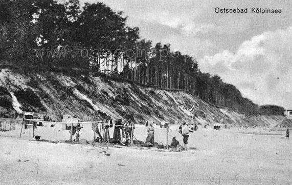 Fischerstrand Kölpinsee 1902