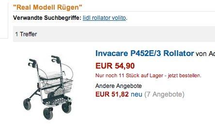 Rollator Rügen