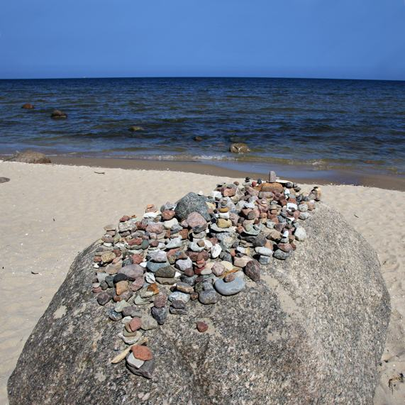 Steine Bansin