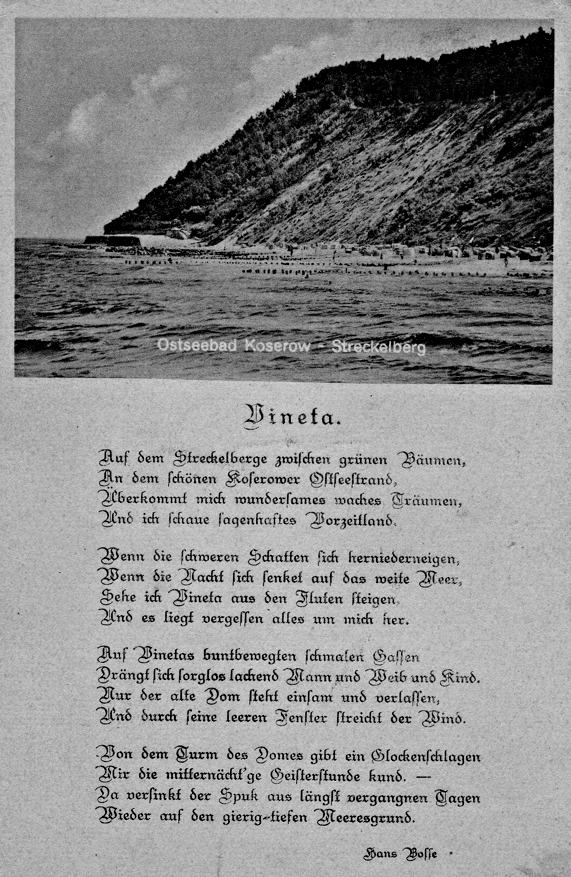 Vineta Gedicht