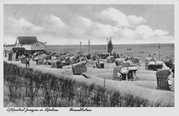 Strandleben Zempin 1937