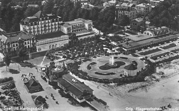 Heringsdorf Seebruecke 1938