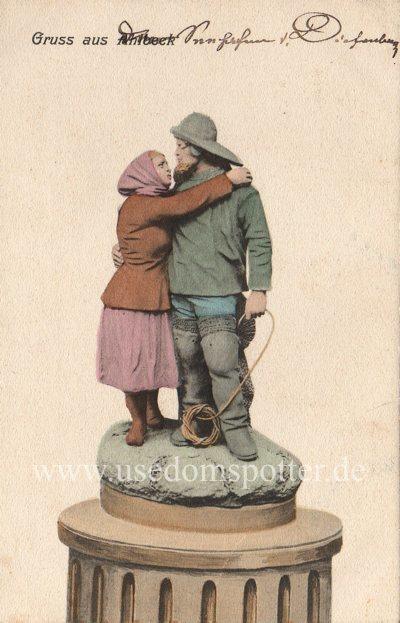 Historische Postkarte Ahlbeck 1903