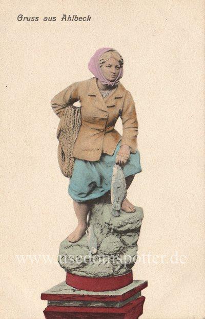 Ahlbeck Fischerfrau