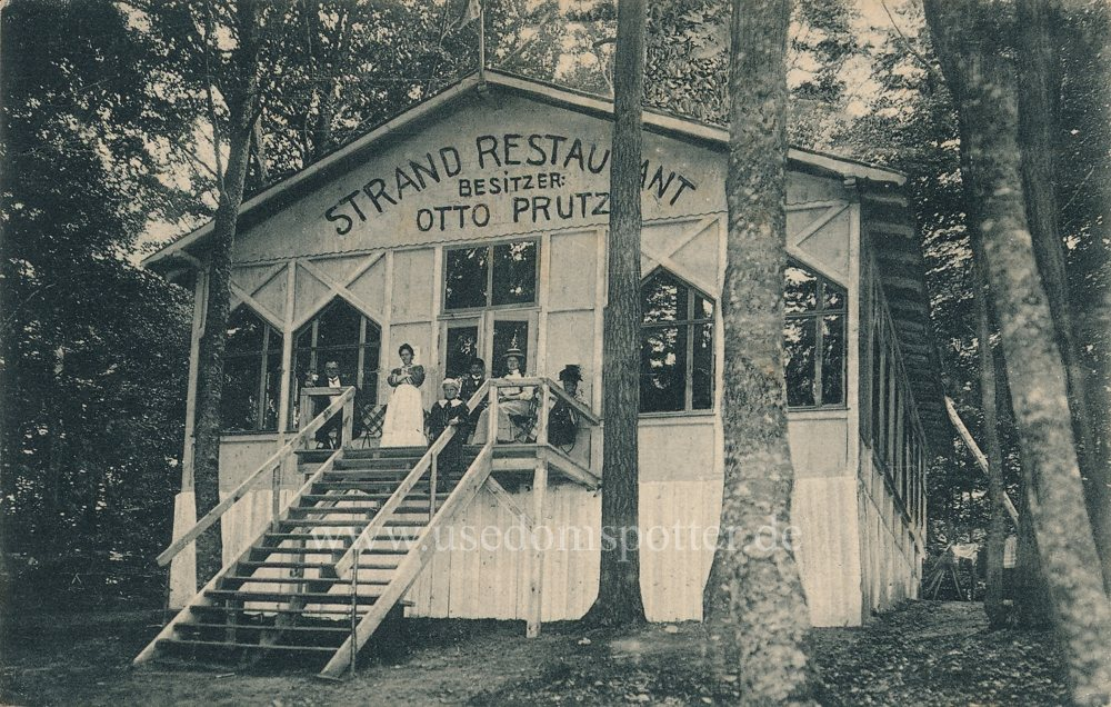 Strandrestaurant Prutz - Ückeritz 1909