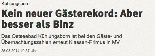 Ostsee-Zeitung mit Falschmeldung