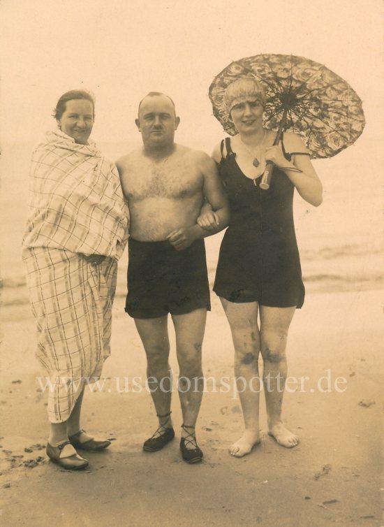 Bademode 1930 Strand Swinemünde