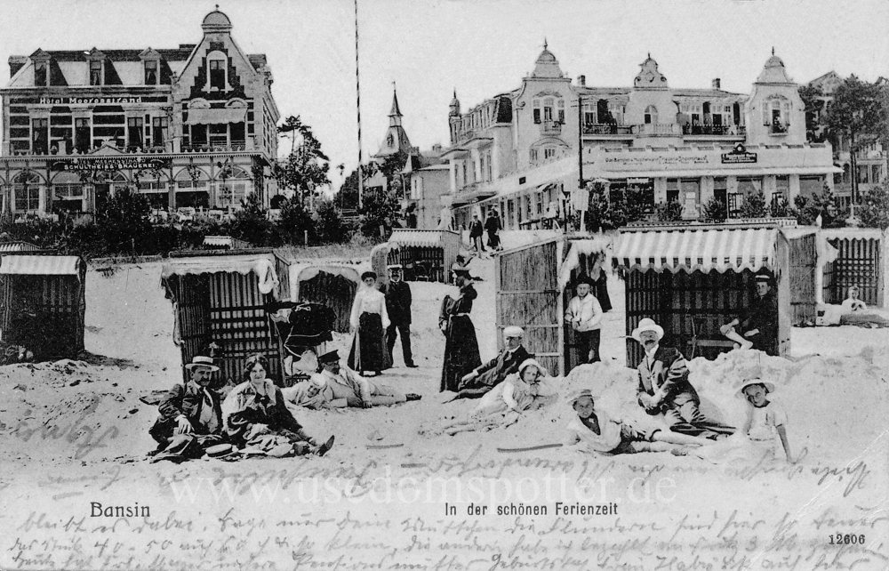 Bansin Hotel Meeresstrand Villa Aegir 1908