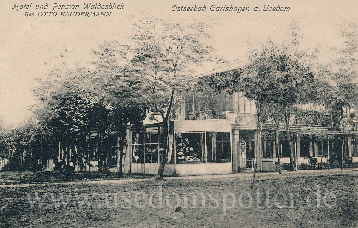 Pension Waldesblick Karlshagen 1919