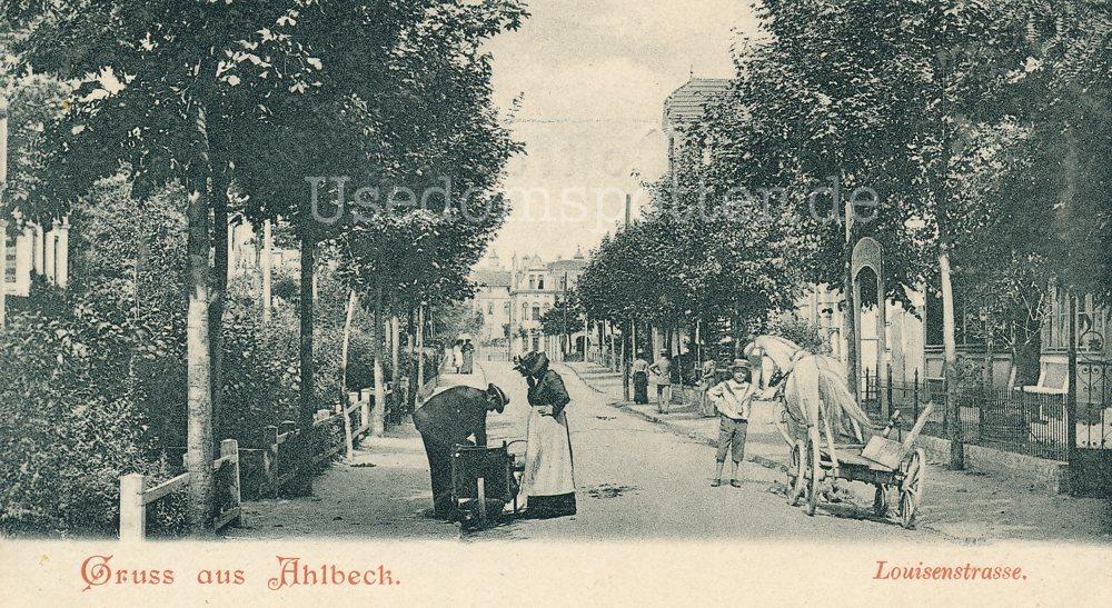 Ahlbeck Louisenstrasse 1903